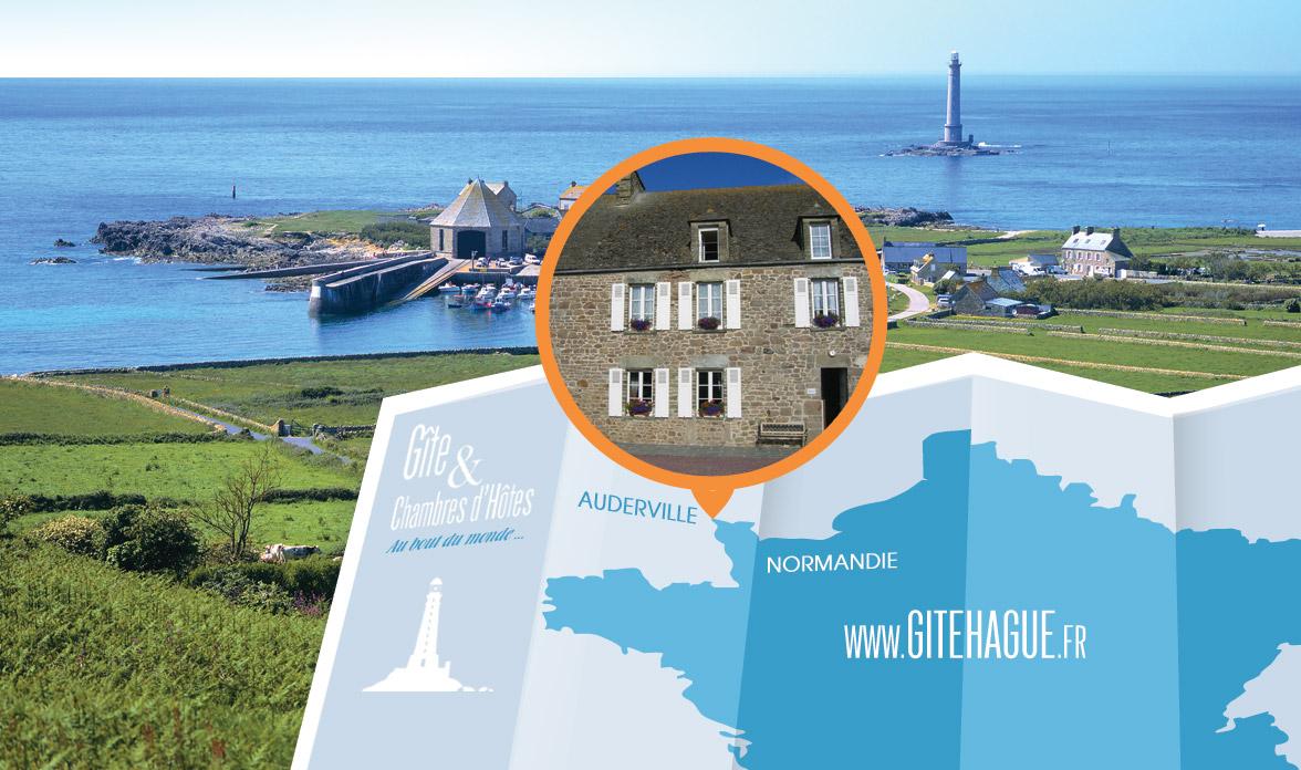 Gîte Hague dans la Manche en Normandie